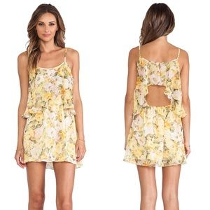 Lovers + Friends Sunkissed Yellow Floral Dress
